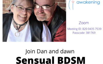 Sensual BDSM – zoom Feb. 7th 6pm EST